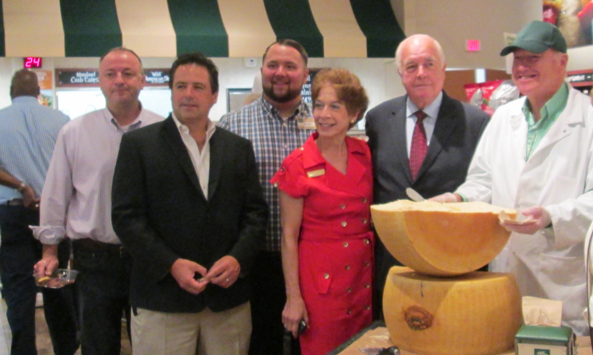 "Suffolk Legislator Rob Trotta attends ""Cracking of the Parmesan"" At the Grand Opening of Fresh Market in Smithtown"