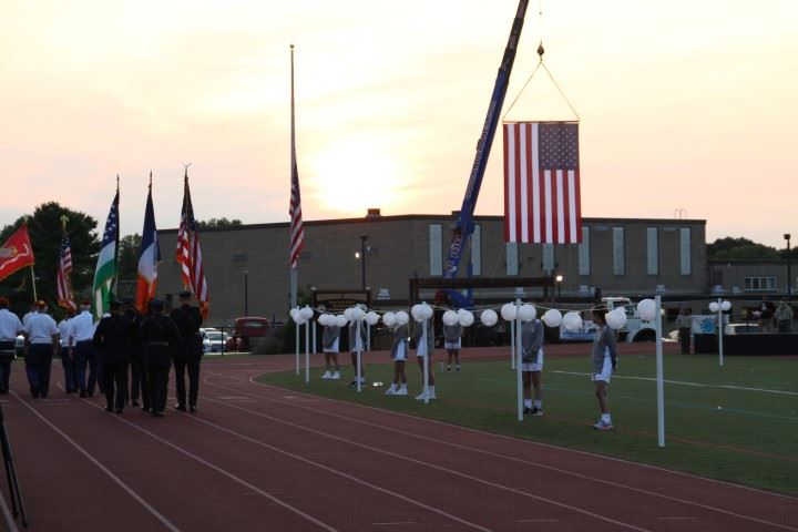 9/11 Ceremony at Commack High School