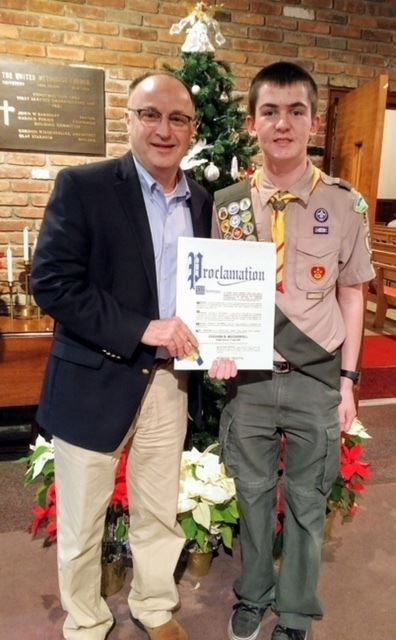 Eagle Scout McCarroll