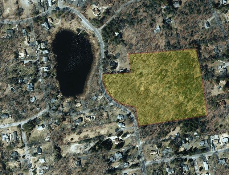 Map of Pine Lake Property