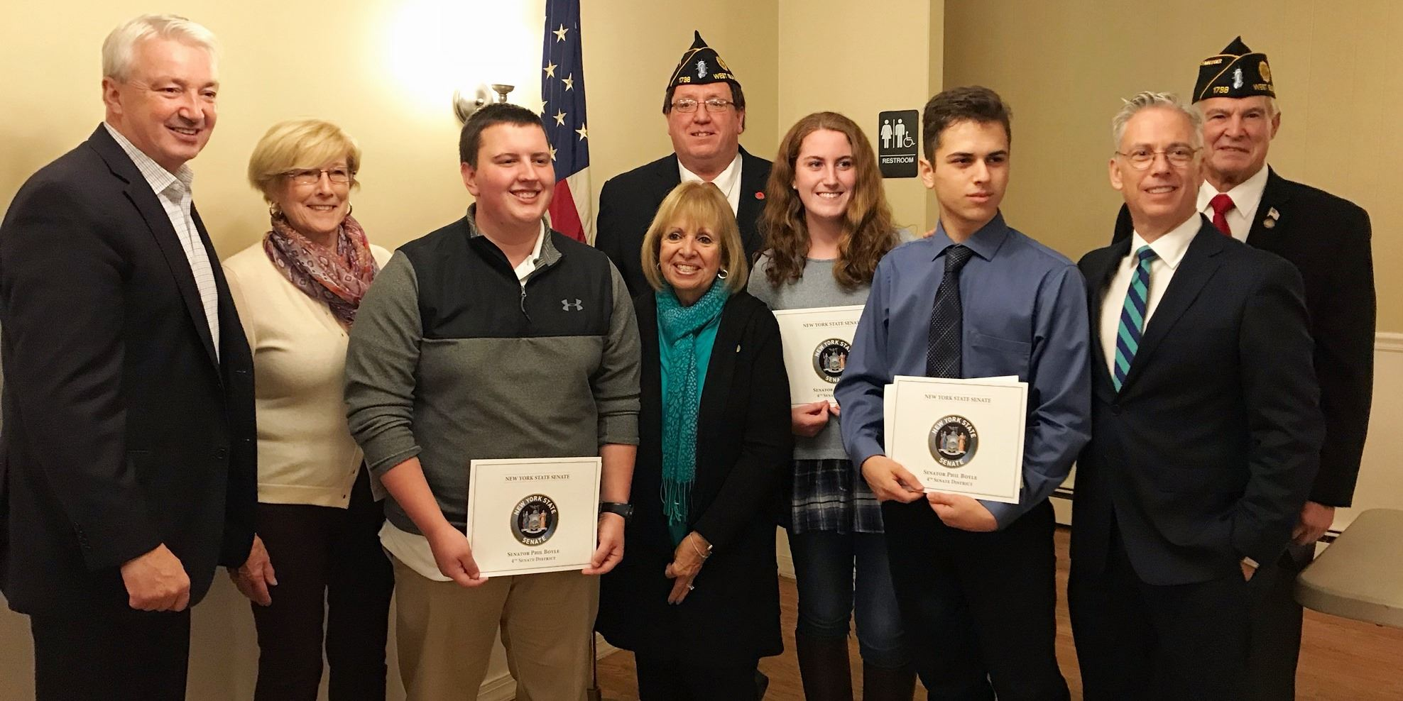 WI American Legion Boys and Girls State Awards
