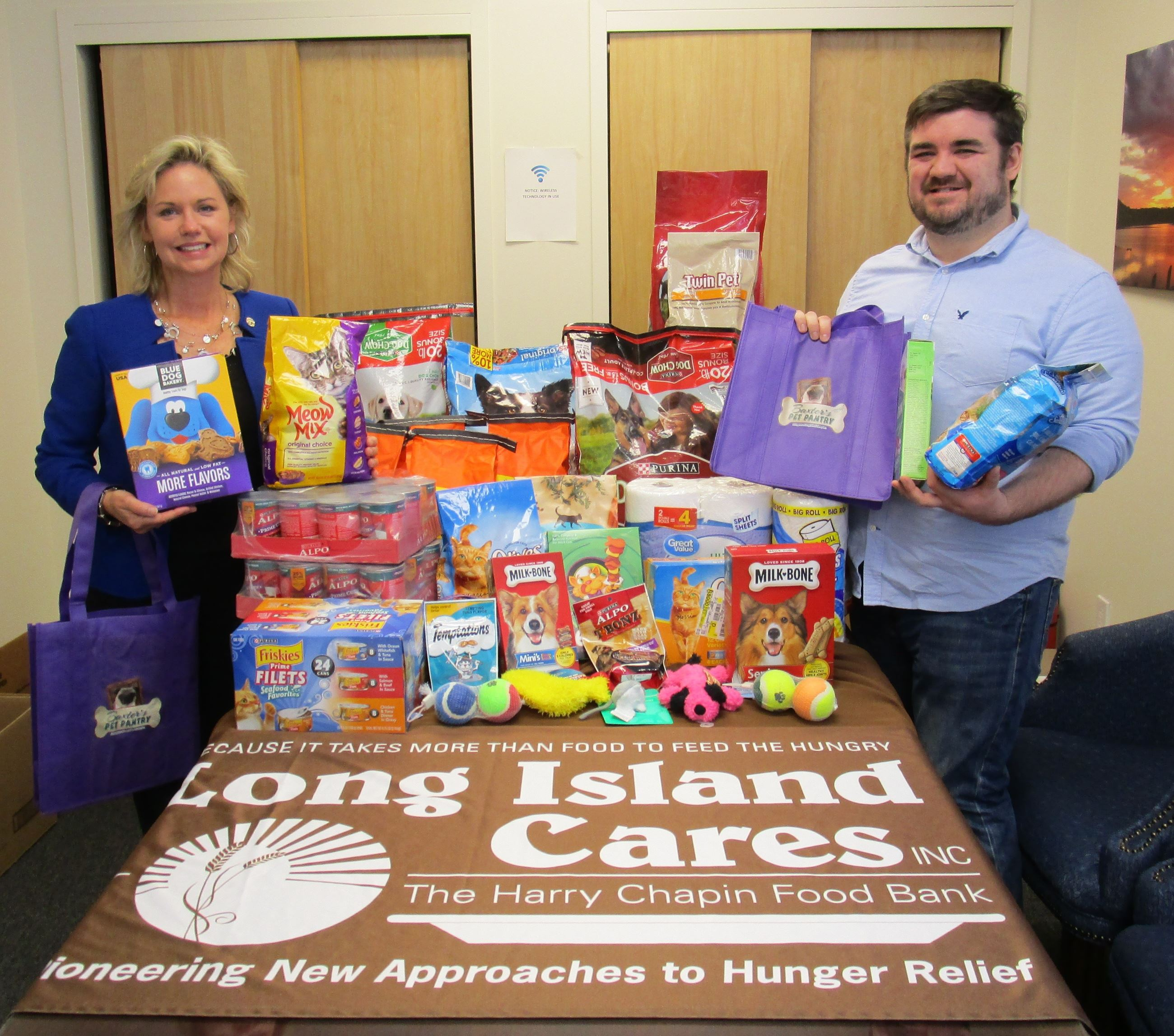 LI Cares Pet Food Drive