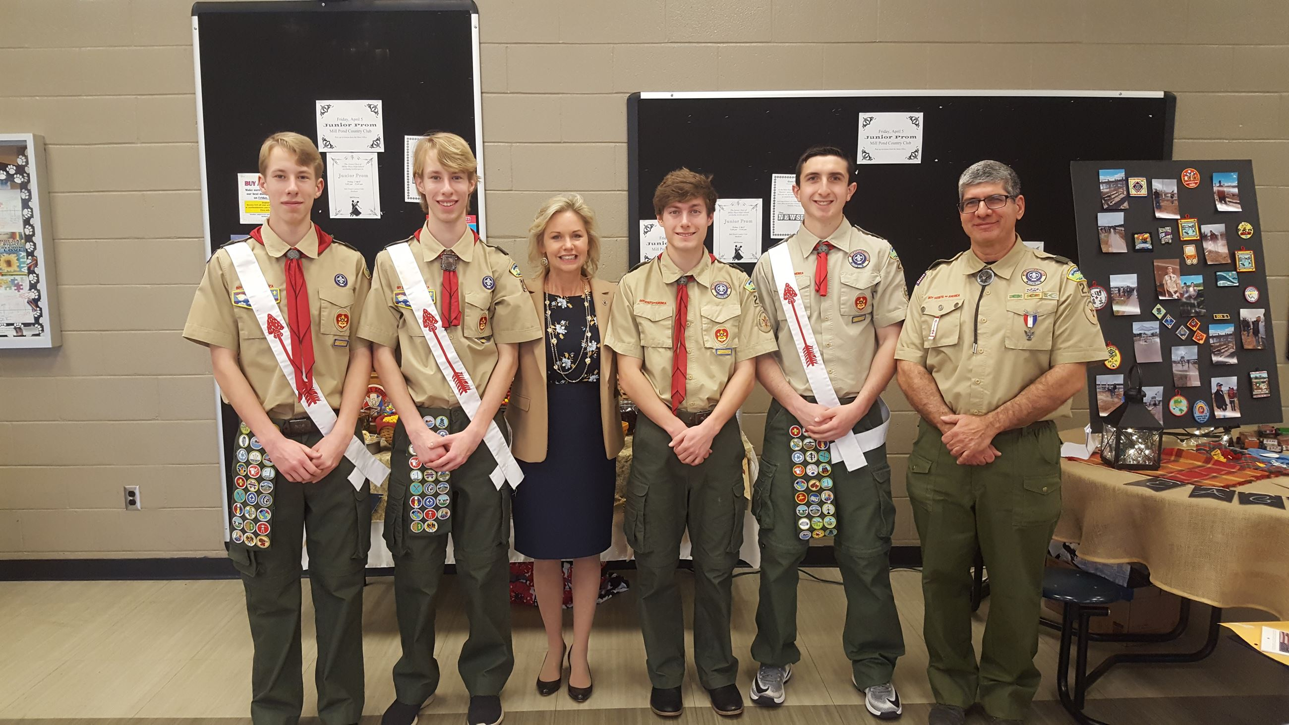 Miller Place Eagle Scouts