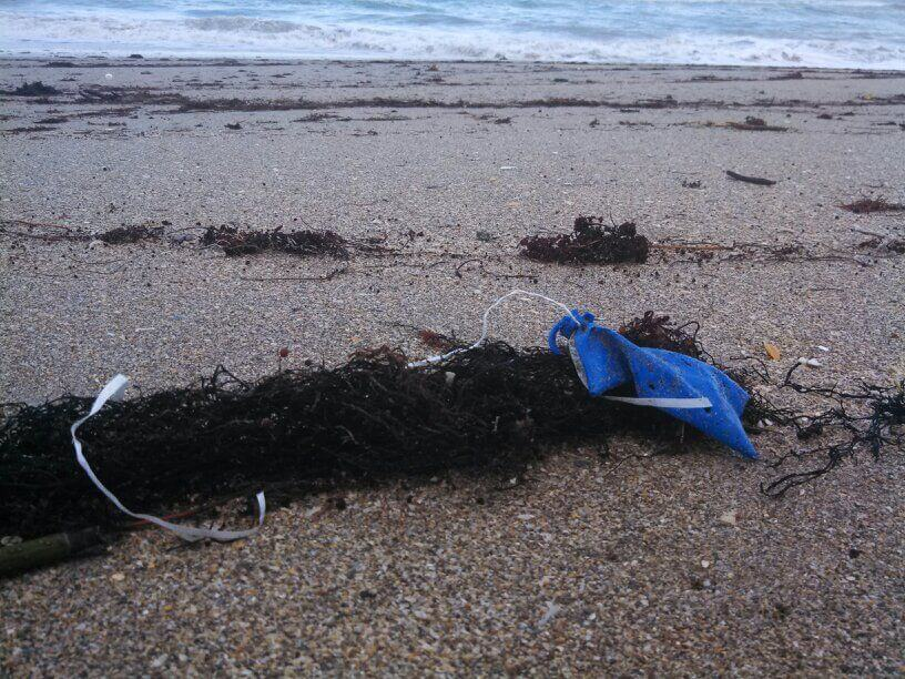 Balloon Beach Pollution