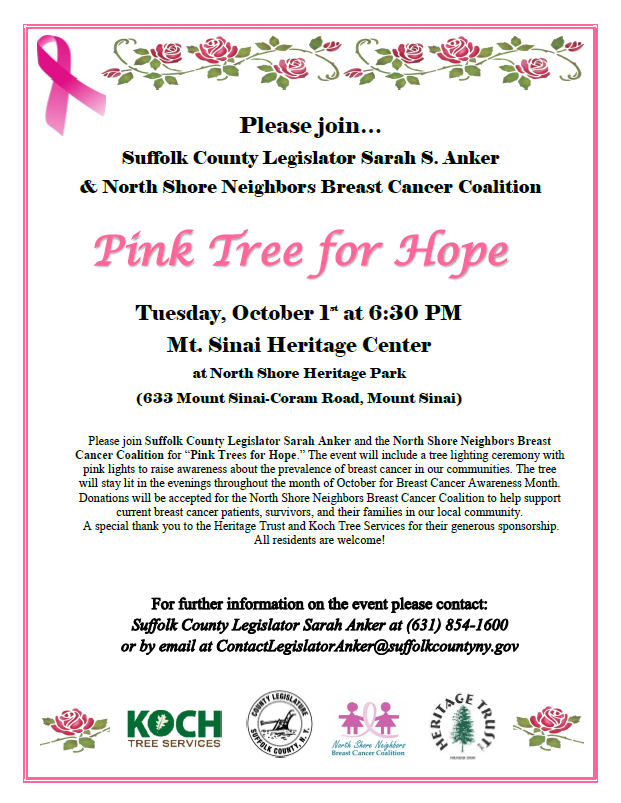 Pink Tree Flyer