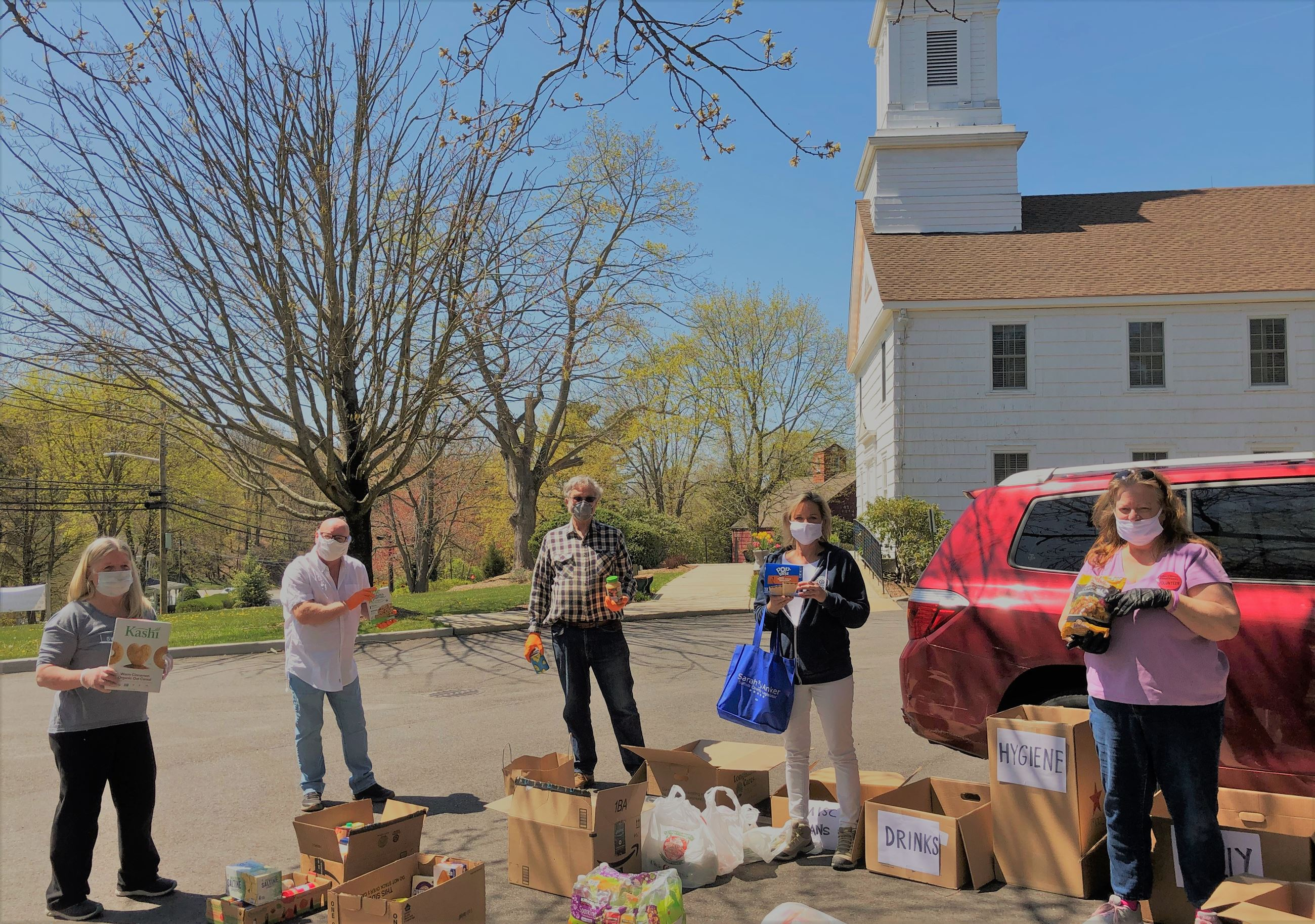 Mt Sinai Congregational Church Food Drive