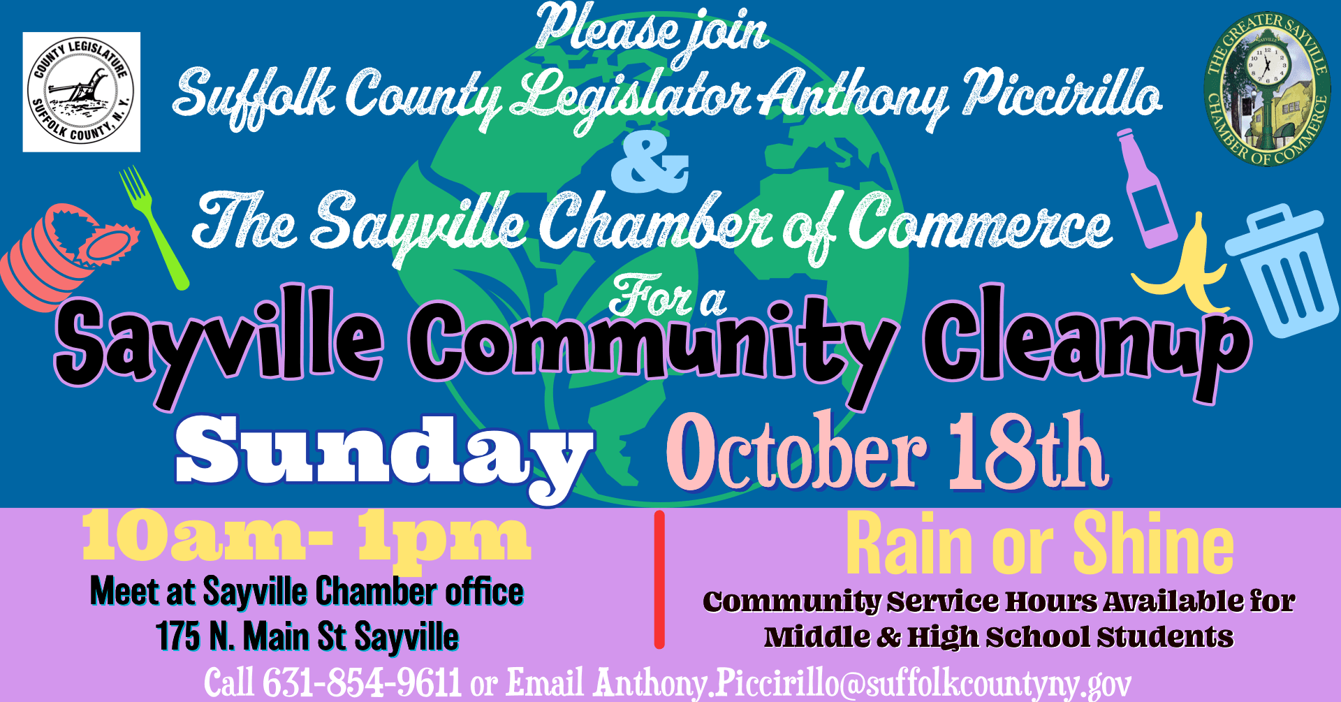 Sayville Community Cleanup 1