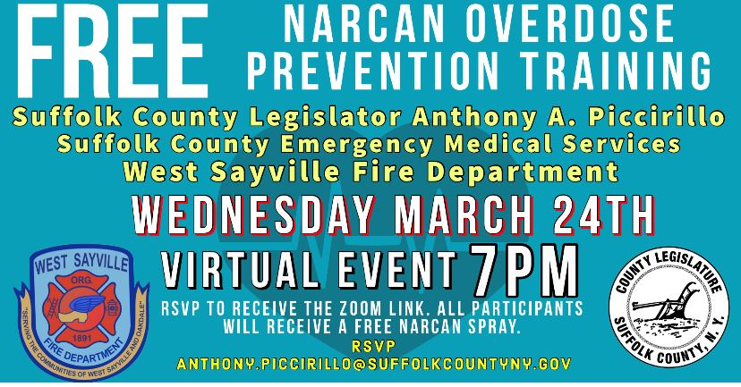 West Sayville Narcan Overdose Prevention Training