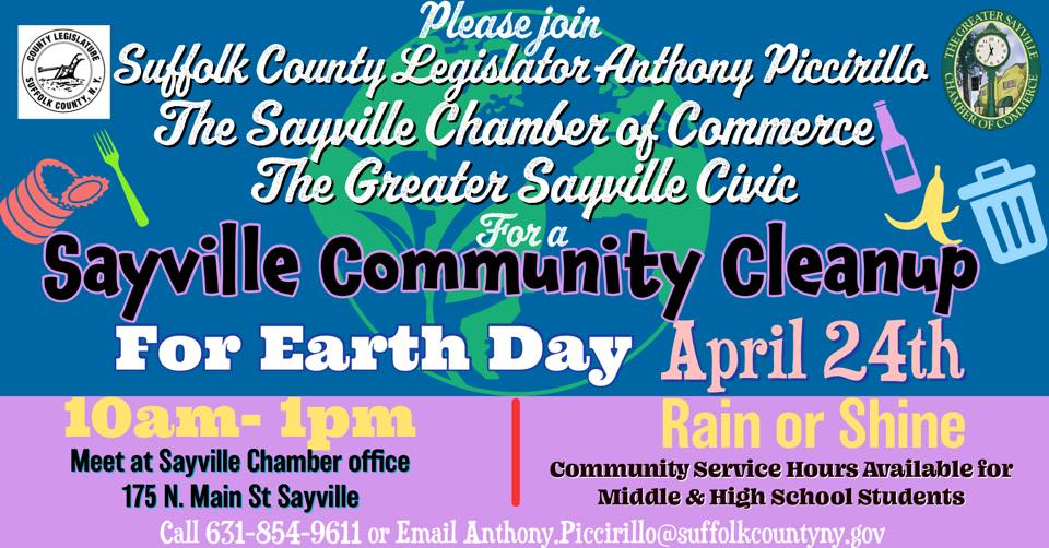 Sayville Cleanup 2021