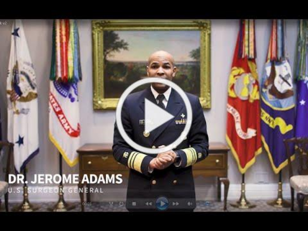 Surgeon General Adams Youtube Tips for Making Face Coverings E-Newsletter Image